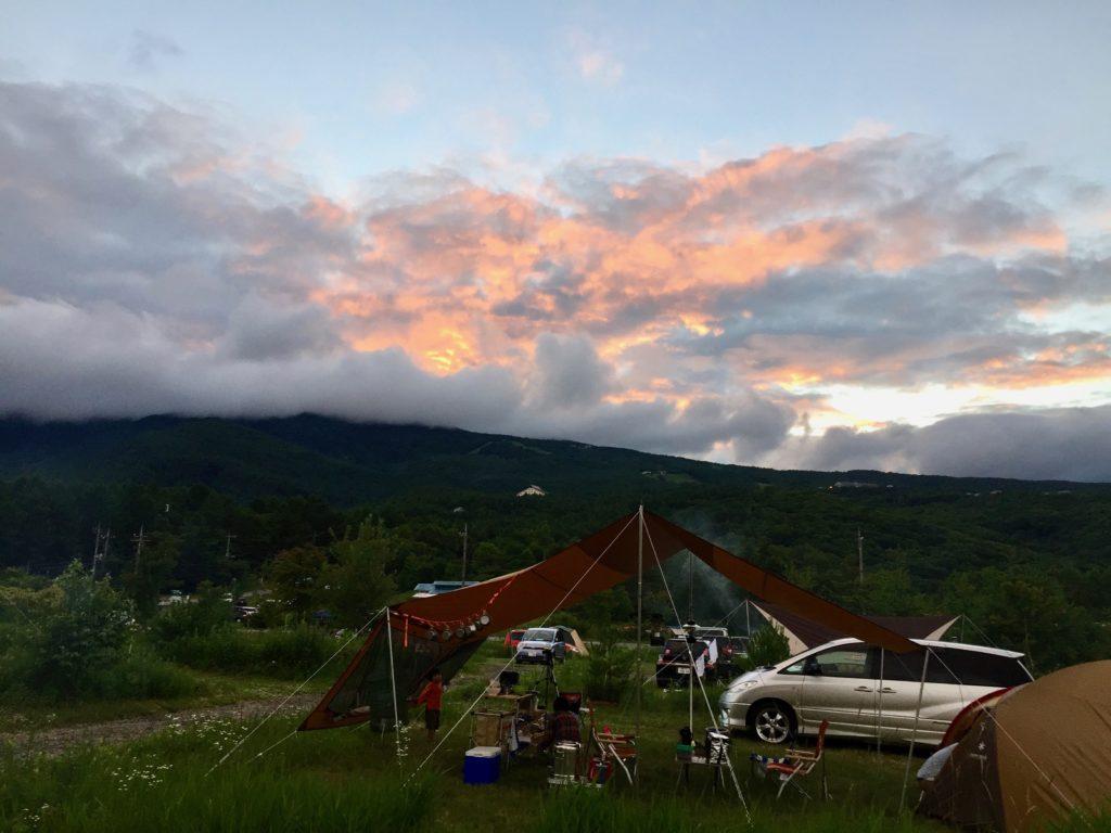 キャンプ場 大自然