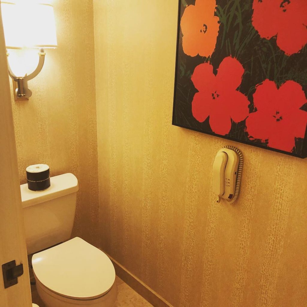 wynn Las Vegas トイレ