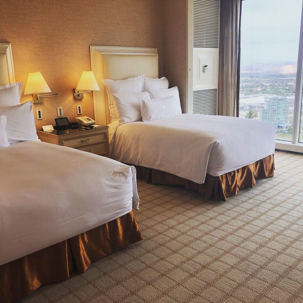 Wynn Las Vegas ベッド
